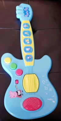 Like New Peppa Pig Guitar - $20 Toronto, M9B 6C4
