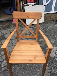 Brown wooden chair  Middle River, 21220