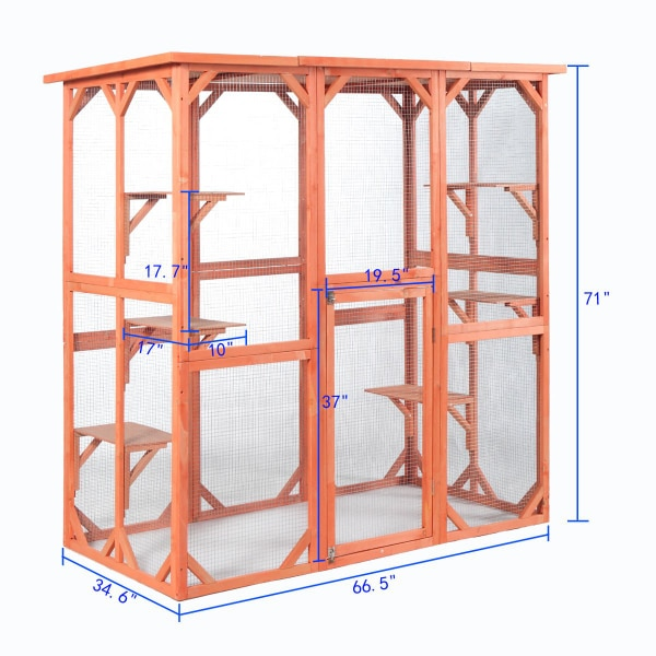 Cat/Dog/Bird Outdoor Animal Cage a8c043b6-8327-44c8-857d-eb43c6f2686b
