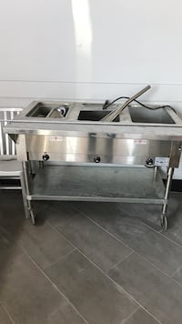 Stainless steel 3 compartment steam table Ashburn, 20147
