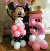 pink and white Minnie Mouse table lamp Phoenix