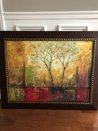 Canvas painting with wooden frame Waterdown, L8B 0M3