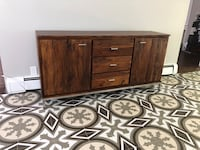 Solid wood console Springfield, 07081