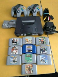 Nintendo 64 with 10 games Franklin Park, 60131