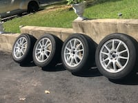 """16"""" Alloy Rims & Tires Forked River"""