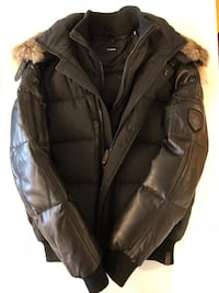 Rudsak leather & fur down parka Toronto, M4V 1W4