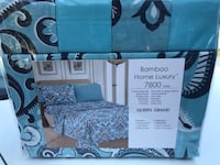 New Bed Sheets with 4 Pillowcases 1 Flat 1 Fitted Floral many colours Toronto, M1K 2B8