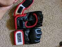 black-and-red leather gloves Phoenix, 85042