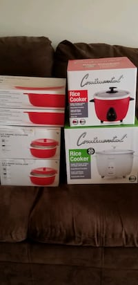Rice Cooker, Ceramic Oval Baker and matching Dutch Oven Set (BNIB)