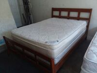 Nice Queen Bed with Plush Pillow Mattress  Las Vegas, 89119