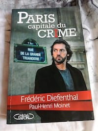 Paris Capitale Du Crime par Paul-Henri Moinet livre