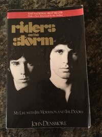 The Doors Riders on the Storm Book Vancouver, V6G 2C9