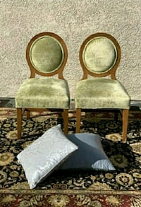 Beautiful green suede 2 pieces chair set Las Vegas, 89104