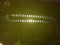 silver 11mm necklace..