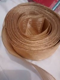 Gold thick ribbon for Christmas decorations Laval, H7W 4E6