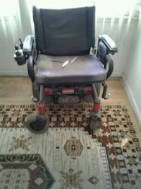 gray and red motorized wheelchair Los Angeles, 91423