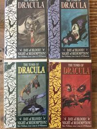 The Tomb of Dracula 1-4 Comic Books