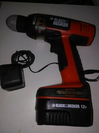 red and black Black & Decker cordless hand drill North Miami Beach, 33160