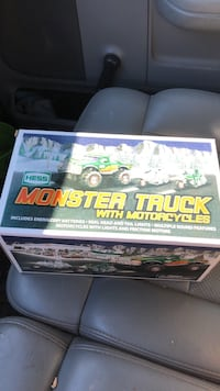 Hess Monster Truck w motorcycle toy collectible Fairfax, 22030