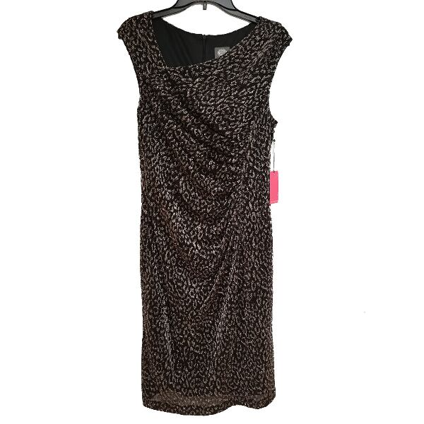 Vince Camuto Glitter Sheath Party Dress 12