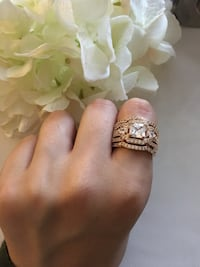 18k gold filled ring sz 8 & 9 available