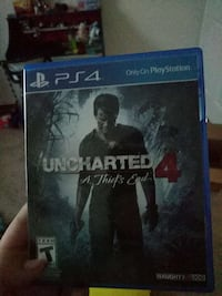 Uncharted 4 A Thief's End PS4 game case Punta Gorda, 33950
