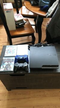 Sony ps3 slim console with controller and game cases Cannon Falls, 55009