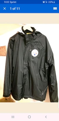 Pittsburgh Steelers XL Jacket Coat 3 in one  Silver Spring, 20910
