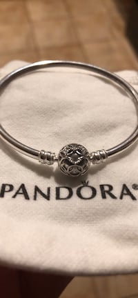 Authentic Pandora Bangle Dreamcatcher Heart Centreville, 20121