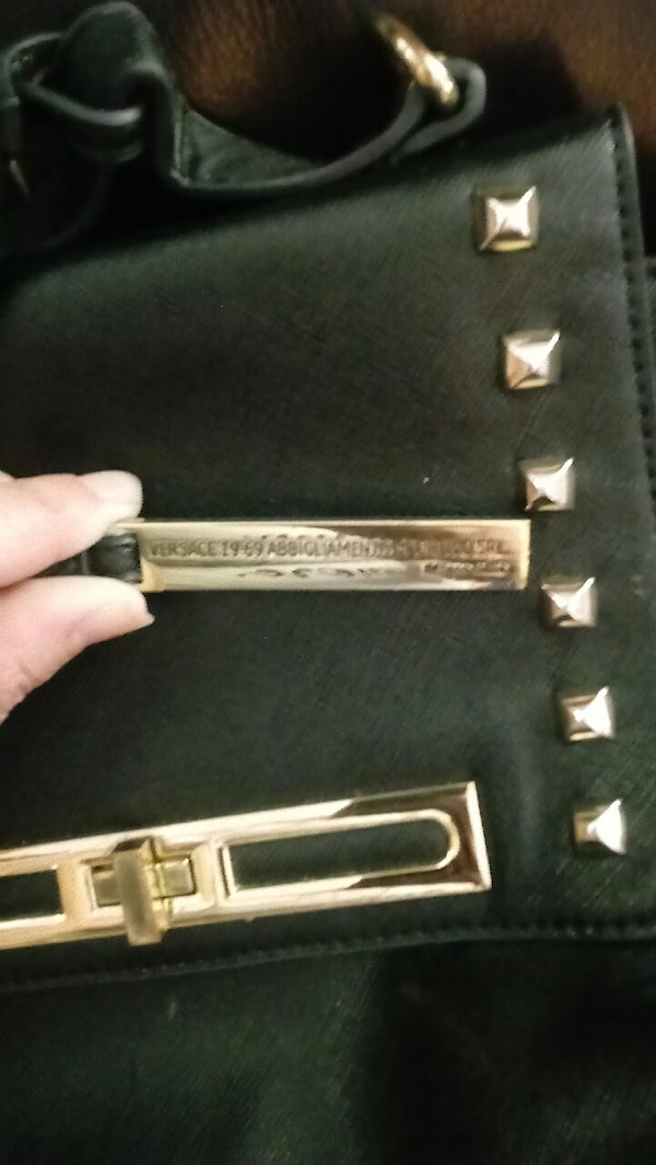 Used Authintic Versace bag for sale in Rossville - letgo 848e1454e2c51