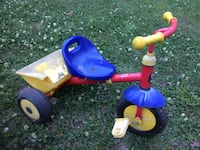 toddler's blue and yellow trike tricycle dump truck Charlotte, 28105