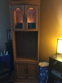 Wooden cabinet  Calgary, T2X 1A1