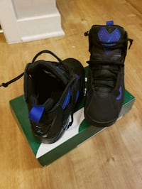 pair of black-and-blue Nike basketball shoes Alexandria, 22305