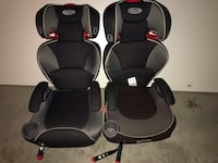 Grace booster seats with back support.  Oakville, L6M 4W3