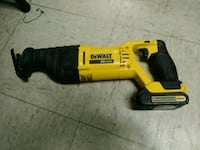 20v Max Sawzall w/battery....By DeWalt Norfolk, 23503
