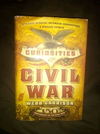Nice hardback book about little known facts about civil war Powdersville, 29642