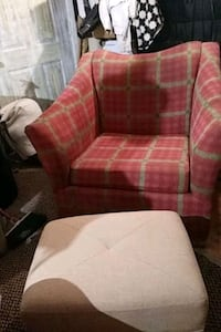 Great chair with ottoman