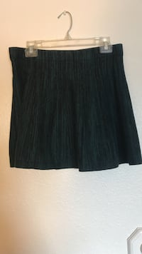 Black and dark teal skirt size large