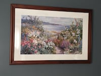 assorted-color flowers painting with brown frame West Caldwell, 07006