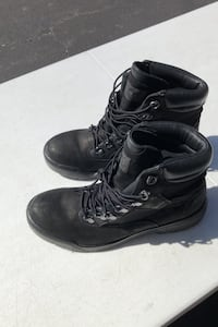 Timberland men's black boots Size 7