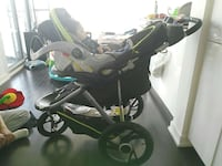 baby's black and gray bassinet stroller Toronto, M5V 4A4