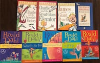 Lot 9 Roald Dahl children's chapter books teacher lot AR Diamond Bar, 91765
