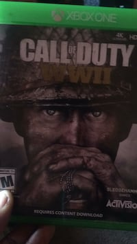 Call of duty ww2 Xbox one game District Heights, 20747