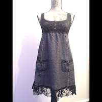 Free People lace tweed racerback dress; Size 4 Los Angeles, 91326