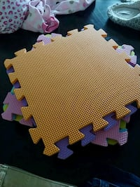 Puzzle play mat pieces Fort Campbell