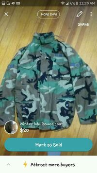 green and black camouflage zip-up hoodie Green Island, 12183