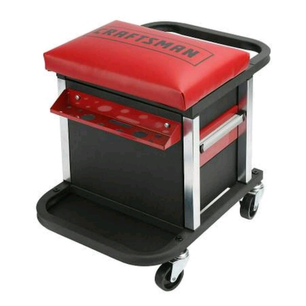 NEW Garage Glider Rolling Tool Chest Seat  4136c781-2bf4-4cd2-a4dd-99470f4f15d9