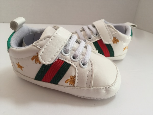 fe79f9ac2b Baby infant Gucci style soft bottom shoes size 3-6 months.