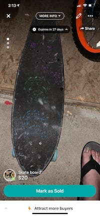 "Kryptonics skate board.  This board is in good shape. Kryptonics 23' ""Mini Fat Cruiser"" Albuquerque, 87123"