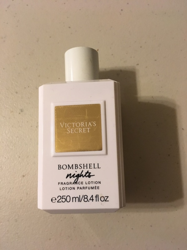 18fed4bb384 Used Brand new Bombshell nights lotion perfume by Victoria Secret 8.4fl oz  for sale in New York - letgo